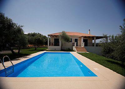 Villa in Greece, Galatas: .