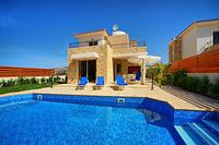 Villa in Cyprus, Coral Bay Centre: Pool Area