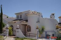 Villa in Spain, Calahonda Centre: Front View Of The Villa