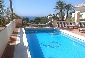 Villa in Spain, Torrenueva: Pool and Sea view from the Villas Terrace