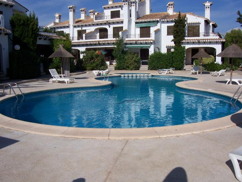 Apartment in Spain, Cabo Roig: 1st swimming pool approx 50yds