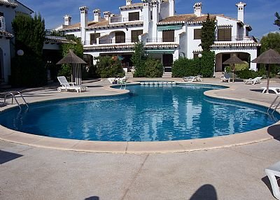 Apartment in Spain, Cabo Roig: One of 2 pools - within 50 yds of apartment