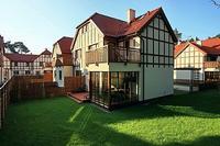 Villa in Poland, Kolobrzeg: Garden view1