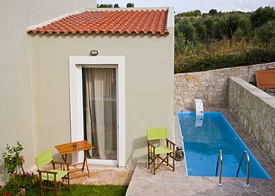 Villa in Greece, Kournas Lake: .