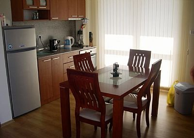 Studio apartment in Bulgaria, Sunny Beach: Kitchen/dining