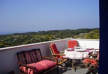 Villa in Almoçageme, Lisbon Metropolitan Area: Veranda