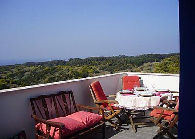 Villa in Portugal, Colares: Veranda
