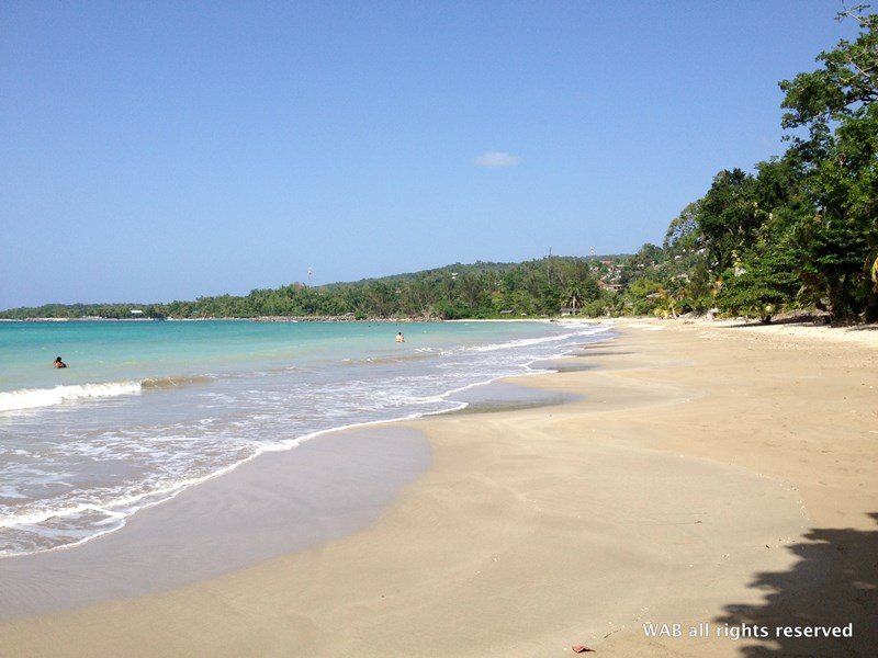Cottage in Jamaica, Boscobel St Mary: Walk to the local beach in under 5 minutes
