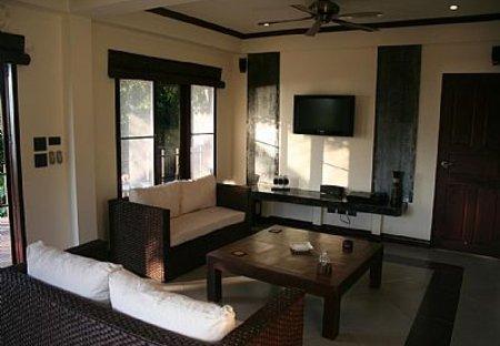 Apartment in Koh Tao, Thailand: Apartment Lounge