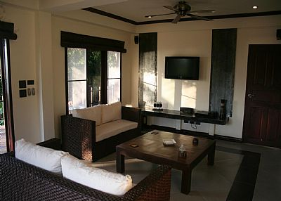 Apartment in Thailand, Koh Tao: Apartment Lounge