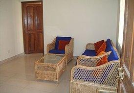 Goa, Calangute, Kyle Gardens, 1 bedroom grnd floor apt + sofabed
