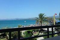 Apartment in Turkey, Calis Beach: Sunset A7 Calis beach & sea views from front balcony