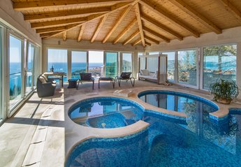 Villa in Croatia, Mlini: Swimming pool