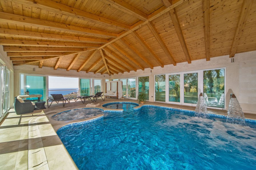 Owners abroad Gorgeous Vila Residence Lantoni with indoor swim. pool, Dubrovnik