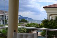 Villa in Turkey, Calis Beach: Oyster 4 villa beach and sea views from master bedroom balcony