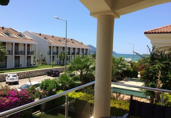 Villa in Turkey, Calis Beach: Oyster 4 Villa, master bedroom seaviews