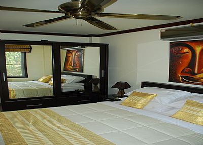 Apartment in Thailand, Koh Tao: Apartment Bedroom