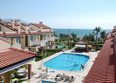 Town house in Turkey, Calis Beach: Pool and kids pool at 35 Seaside Residence Calis Beach
