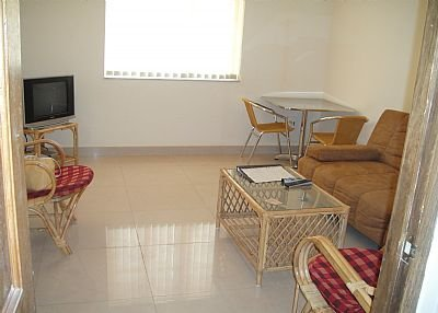 Owners abroad Goa, Calangute, Kyle Gardens, 1 bedroom + sofabed ground flr appt
