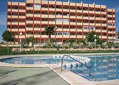 Apartment in Spain, Torrelamata: Front of the Apartments