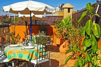 Riad in Morocco, Medina: Our sunny roof terrace