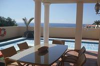 Villa in Spain, Playa Paraiso: DINE WITH SEA AND POOL VIEWS