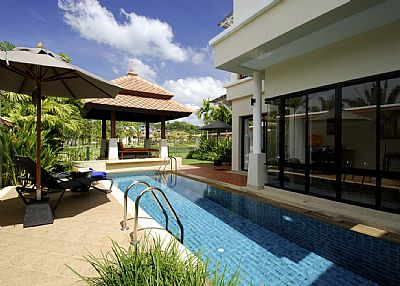 Villa in Thailand, Bang Tao Beach: Pool
