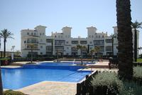 Apartment in Spain, Hacienda Riquelme Golf Resort: Our apartment block in the background
