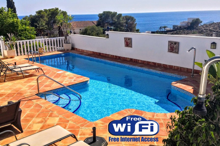 Owners abroad beautiful Villa with stunning sea and montain views, private pool