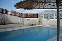 Villa in Greece, Makri Gialos: Athena 3 bedroom holiday rental Villa in Crete with private pool
