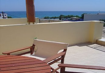 Apartment in Greece, Makri Gialos: Daidalos maisonnette with big terrace and sea view