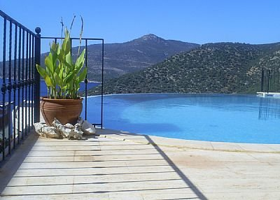 Villa in Turkey, Kalkan: Pool with a view