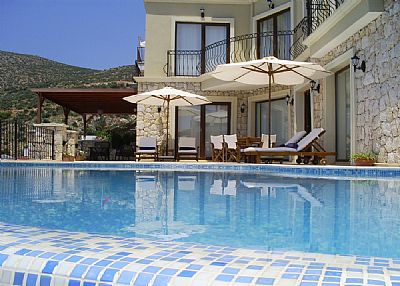 Villa in Turkey, Kalkan: Spacious Terrace