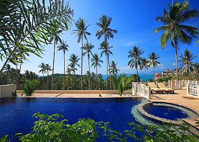 Villa in Thailand, Bang Por: swimming pool