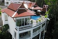 Villa in Thailand, Patong beach: Aerial View of the villa
