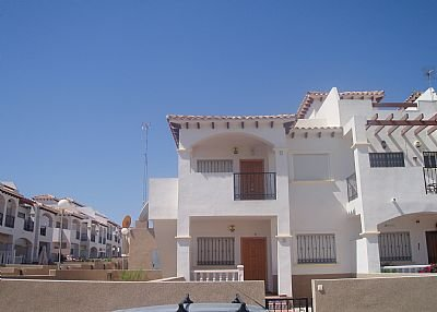 Apartment in Spain, La Cinuelica: Exterior VIew of this 2 Bed Apartment