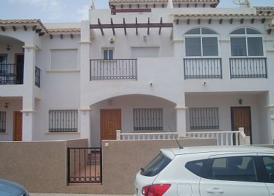 House in Spain, La Cinuelica: Exterior View of this Beautiful Townhouse