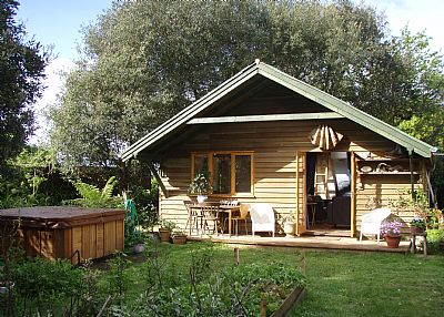 Lodge in United Kingdom, Devon: spa lodge