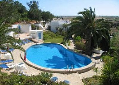 Villa in Portugal, Algarve: One of the pools