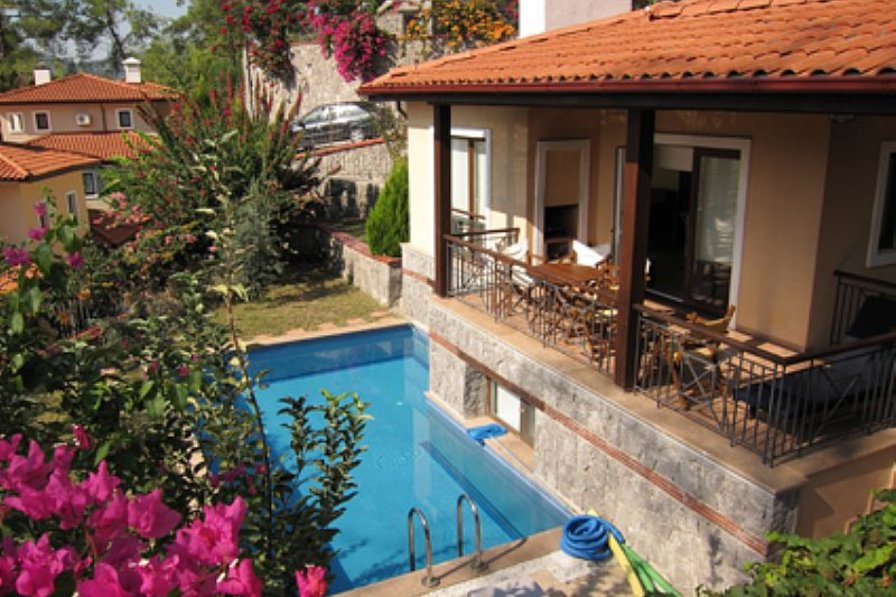 Villa in Turkey, Gocek: Pool and terrace