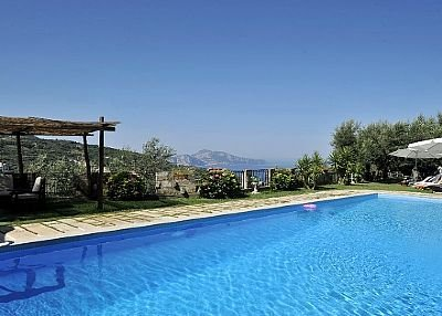 Villa in Italy, Massa Lubrense: SWIMMING POOL