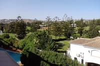 Penthouse_apartment in Spain, Mijas Golf: The view from the west terrace over towards the golf cou..