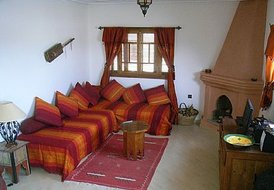 Apartment in Essaouira, Morocco: Mirador Maroc - living room