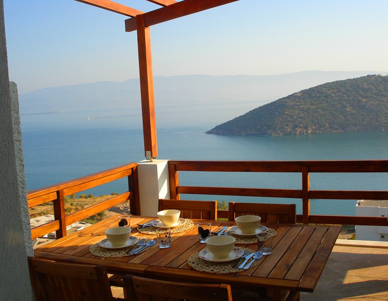 Apartment in Turkey, Tuzla Lake: Just soak up the view at Turquoise Bay!