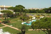 House in Spain, Nuevo portil: View from the balcony over looking the gardens and