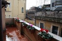 Apartment in Italy, Trastevere: Terrace