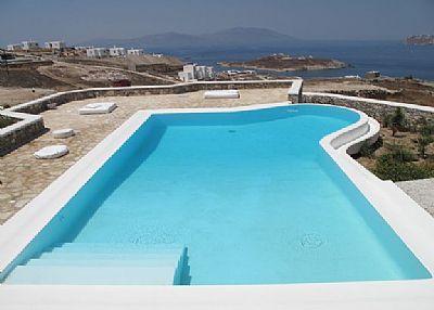 Villa in Greece, Mykonos: 2 Pool Upper
