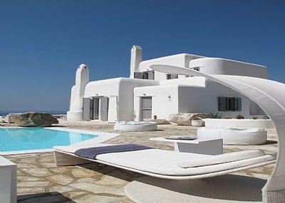 Villa in Greece, Mykonos: 1 Exterior Lounger