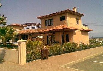 Villa in Spain, Majanicho: Villa Calina an end villa with parking bays at side of Villa garden