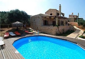 2 floor traditional villa in Chania